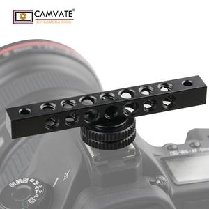 Image 5 - CAMVATE クール黒アルミチーズバーで 1/4 20 ネジ穴モニター C1483 カメラの撮影アクセサリー
