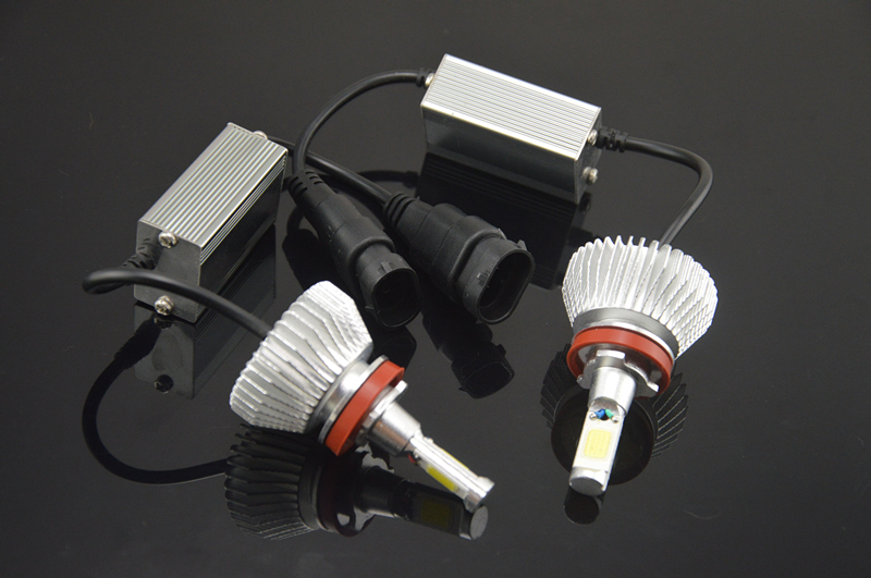 2pcs H1 H3 H4 H7 H11 80W 6000K 12V/24V LED Headlight Conversion Kit Head Car Xenon White Lamp High Low Kit Globes Bulbs Light