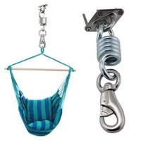 Stainless Hammock Chair Ultimate Hanging Kit Steel Ceiling Wall Mount Anchor Bracket Hook Yoga Swing Chairs