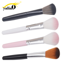 YALIAO Pink/Black/Brown Make Brush High Quality Fibers Hair Highlighter Plastic Handle Up Brushes Facial Makeup Tools