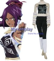 Anime Bleach Cosplay Bleach Yoruichi Shihouin Women's Cosplay Costume Halloween Party Costumes Freeshipping