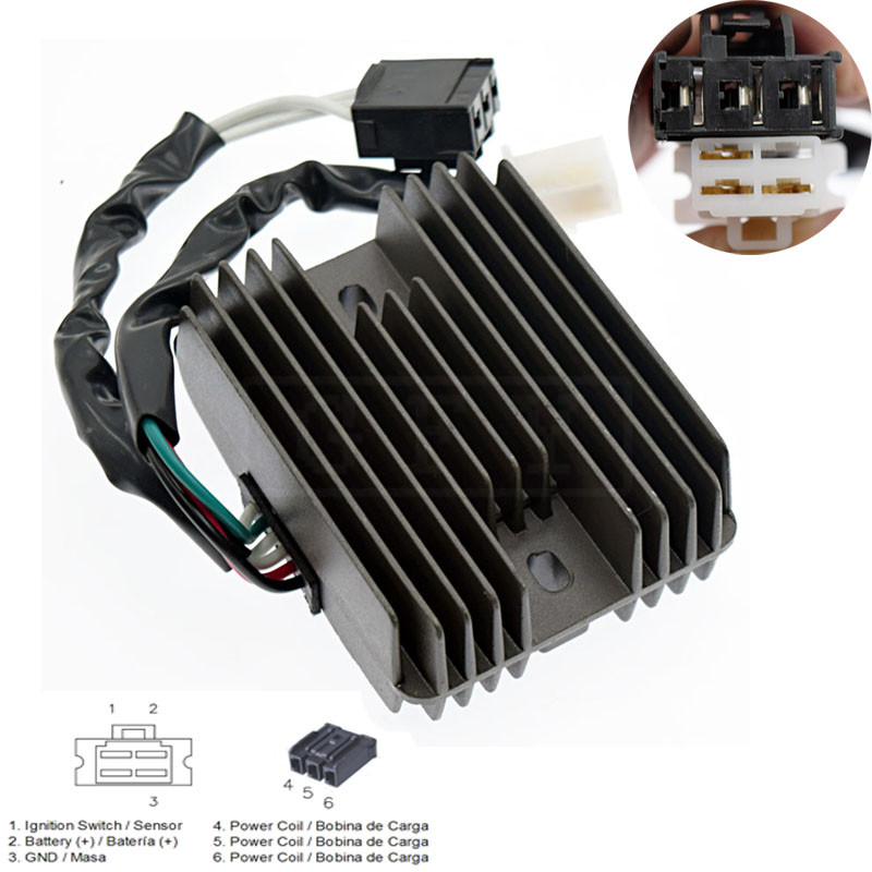 For CFMOTO 500 CF500 500CC Quad Bike Go-Kart UTV ATV 12v Motorcycle Voltage  Regulator Rectifier