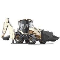 Alloy Diecast Excavator 1:50 4 Wheel Shovel Loader Two way Forklift Bulldozer Back Hoe Loader Truck Model For Kids Gift Toys