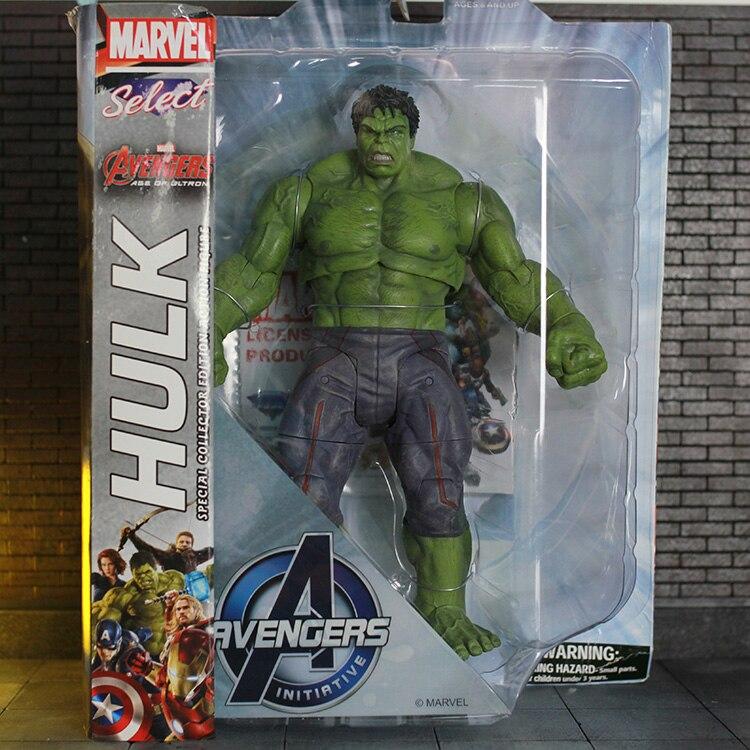 De Pvc Figura Modelo Acción Avengers Colección Marvel Select Hulk rdCtsQhx