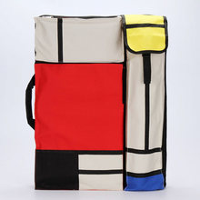 MoeTron Fashion 4K Large Drawing Bag Portable Backpack Art School Bag Drawing Kit Art Set /Sketch Pad Painting Bags For Artists