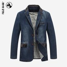 2017 neue Frühjahr Männlichen jeansjacke männer mäntel marke Fashion Casual oberbekleidung jaqueta jeans masculino Jacken Plus Größe 4XL 3158