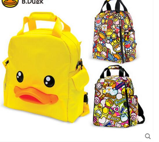 Fashion Backpack Yellow Duck Mummy Bag Shoulder Pack BigCapacity Mother & Baby Package Pregnant Women Knapsack Leisure Ladies дождевик yellow duck