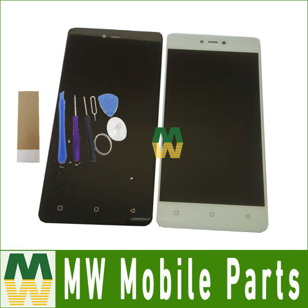 5.0 Inch For BQ-5032 Element For BQ 5032 LCD Display+Touch Screen Assemble Replacement Black White Color with tools+taps