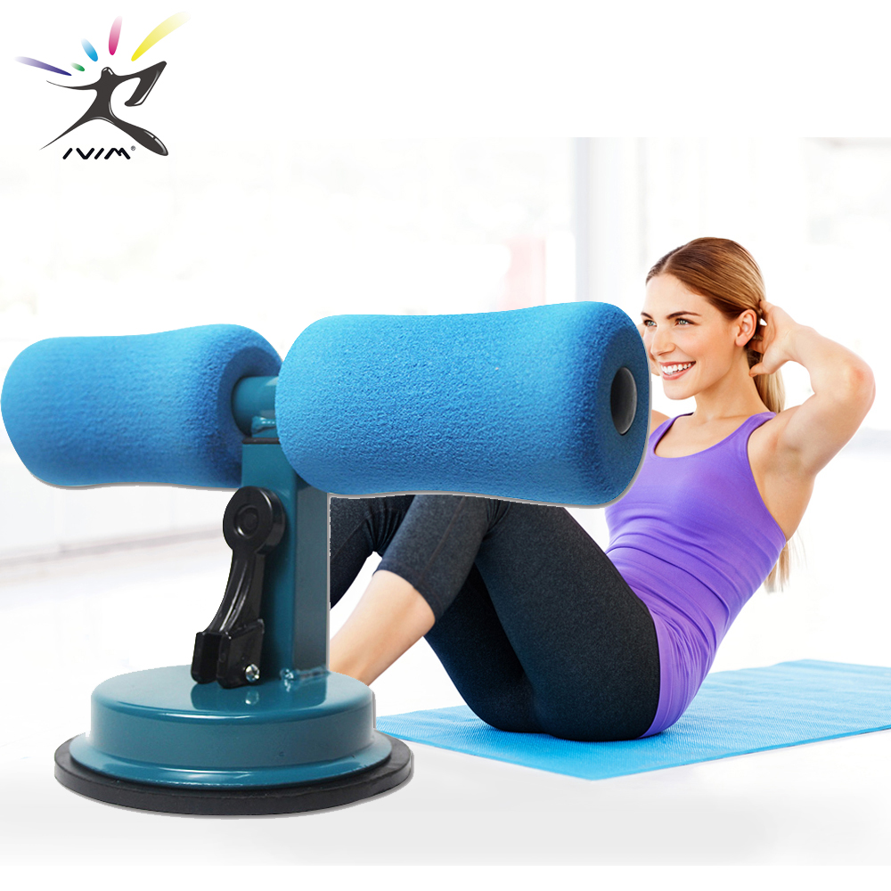 Sit Up Bars Abdominal Core Workout Strength Training Adjustable Assistant Equipment Stand Self-Suction for Gym Home Fitness