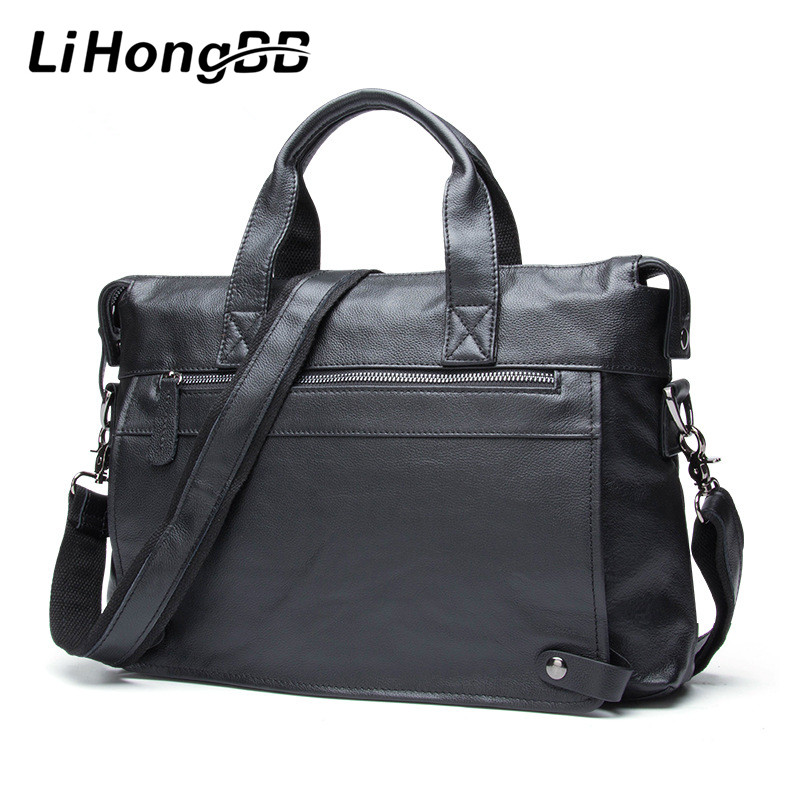 Men Luxury Fashion Handbag Genuine Leather Bags Business Mens Messenger Shoulder Bag Crossbody Men's Briefcase Laptop Tote genuine leather men briefcase business male fashion laptop handbag messenger bag men leather brand crossbody shoulder tote bags