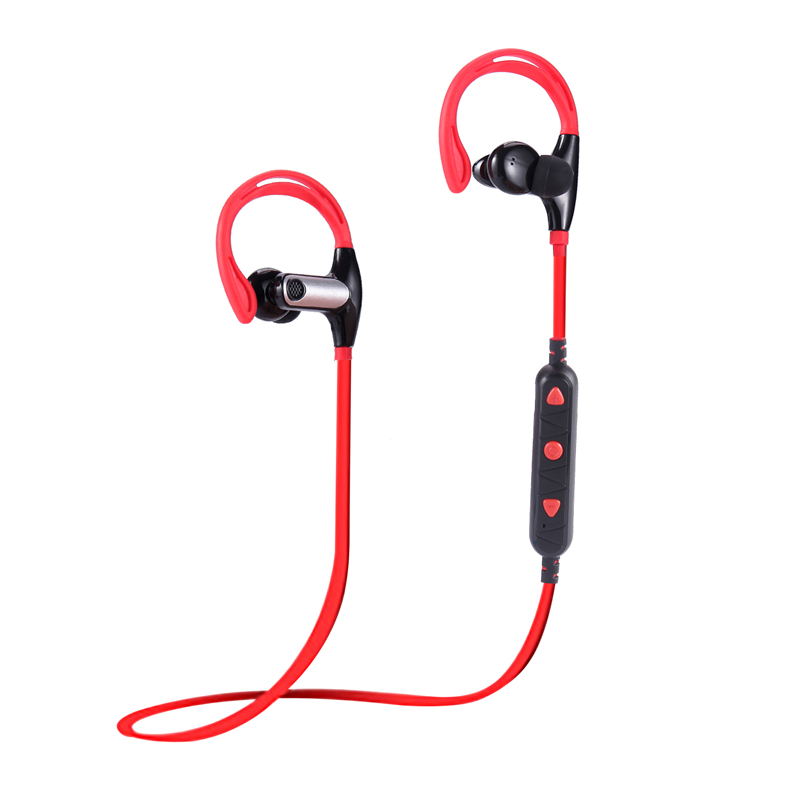 YCH-10 Wireless Bluetooth Headphone Ear Mount Ear Plug Sport Stereo with Microphone Call Connection xiao mi Apple Samsung Phone