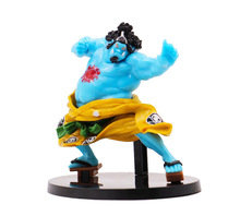 цены One Piece Jinbe Action Figure 1/8 scale painted figure BWFC Fighting Ver. Jinbe PVC figure Toy Brinquedos Anime