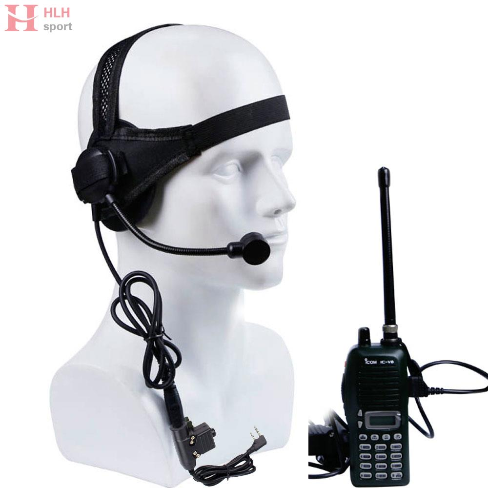Tactical Selex TASC1 Headset II Standard Plug Microphone With Kenwood PTT Walkies Talkie CS Games Hunting Airsoft Headphone