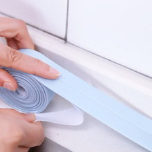 Waterproof Mold Proof Adhesive Tape Wall Sealing PVC Kitchen Bathroom Household Gadgets Corner Stickers