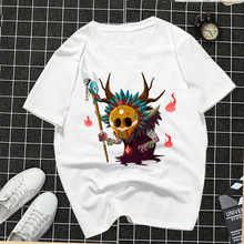 Fashion Funny  2019 Women Casual Tshirt Short Sleeve Summer Demons Graphic Tops Harajuku Cotton T shirt tops Tee