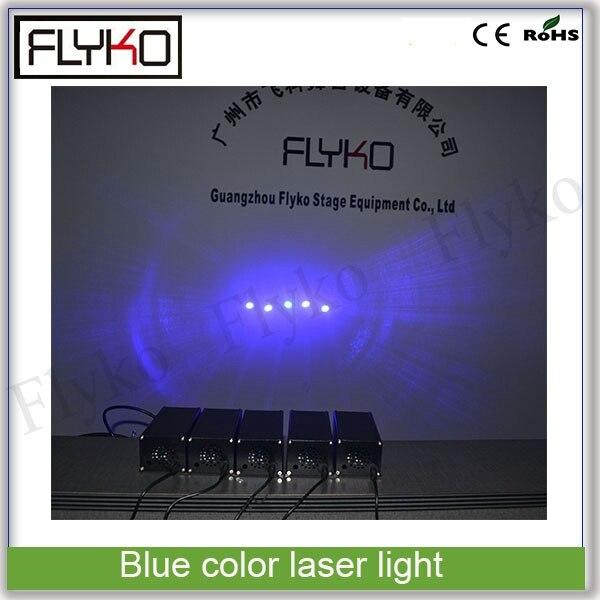 Livraison gratuite couleur bleue laser scène lumière mini DJ Club Disco projecteur musique 500 mw laser faisceau lumineux