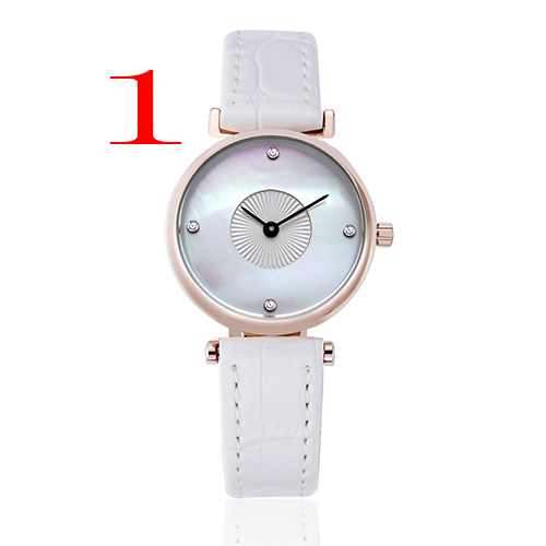 Fashion women brand watches leathr strap casual wristwatches