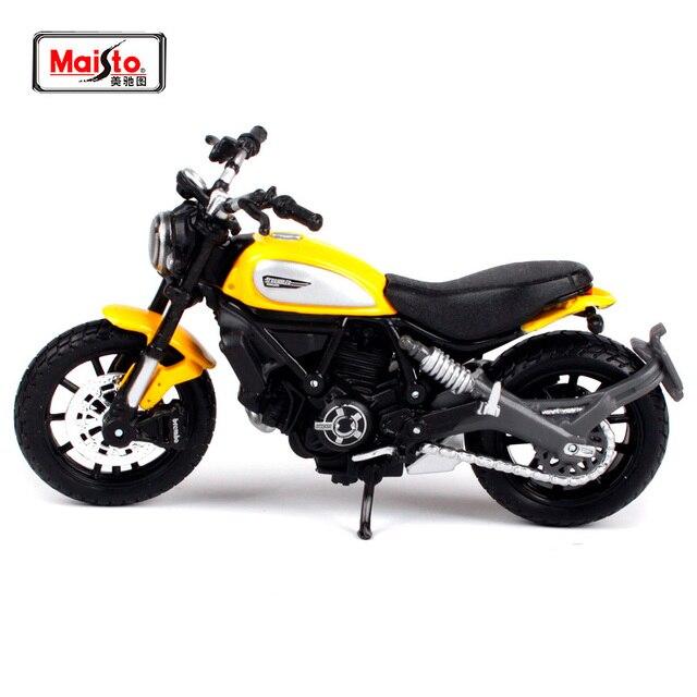 Us 1401 17 Di Scontomaisto 118 Ducati Scrambler Della Bici Del Motociclo Diecast Modello Del Giocattolo Nuovo In Scatola Di Trasporto Libero
