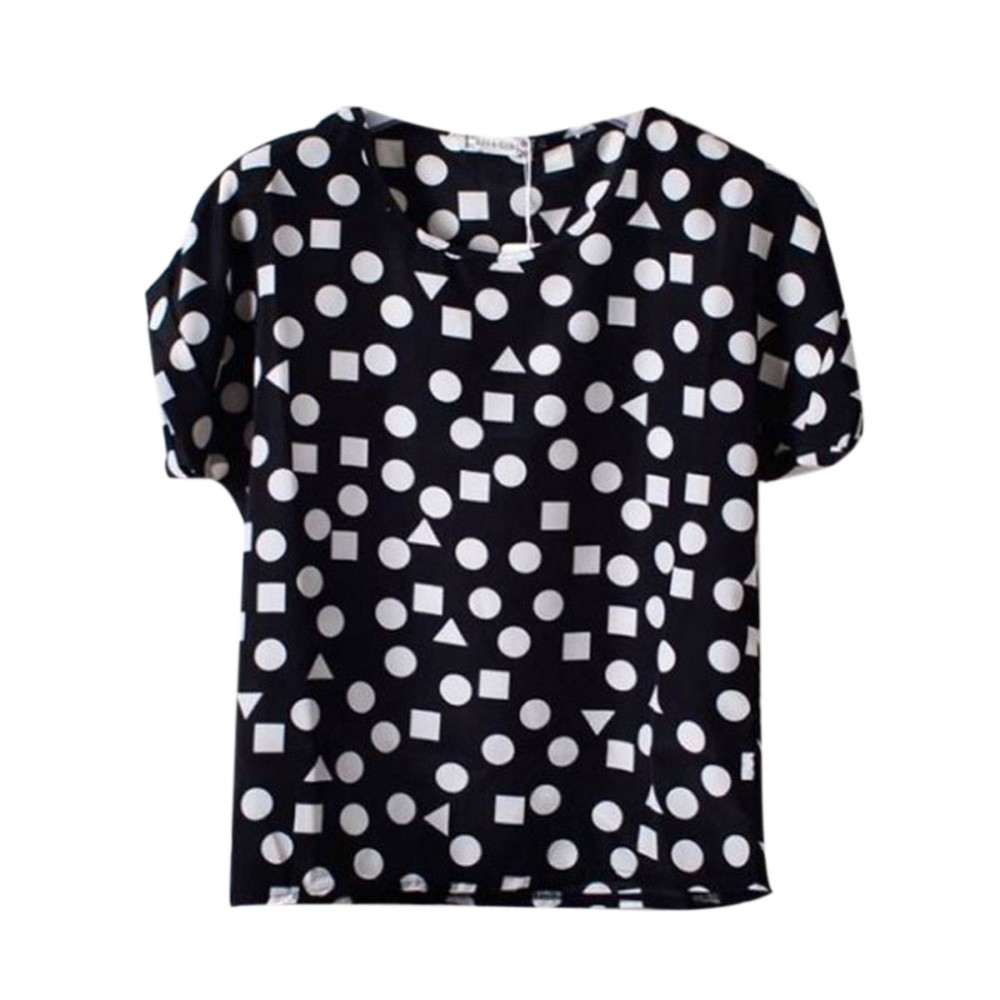 HTB19GevRXXXXXcTXXXXq6xXFXXXc - T-shirts O Neck Bird Printed Women Top Colorful Short Sleeve