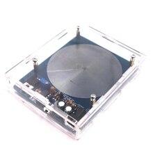 DC 5 V 7.83 HZ Schumann Resonantie Ultra lage Frequentie Pulse wave Generator Audio Resonator Met Doos