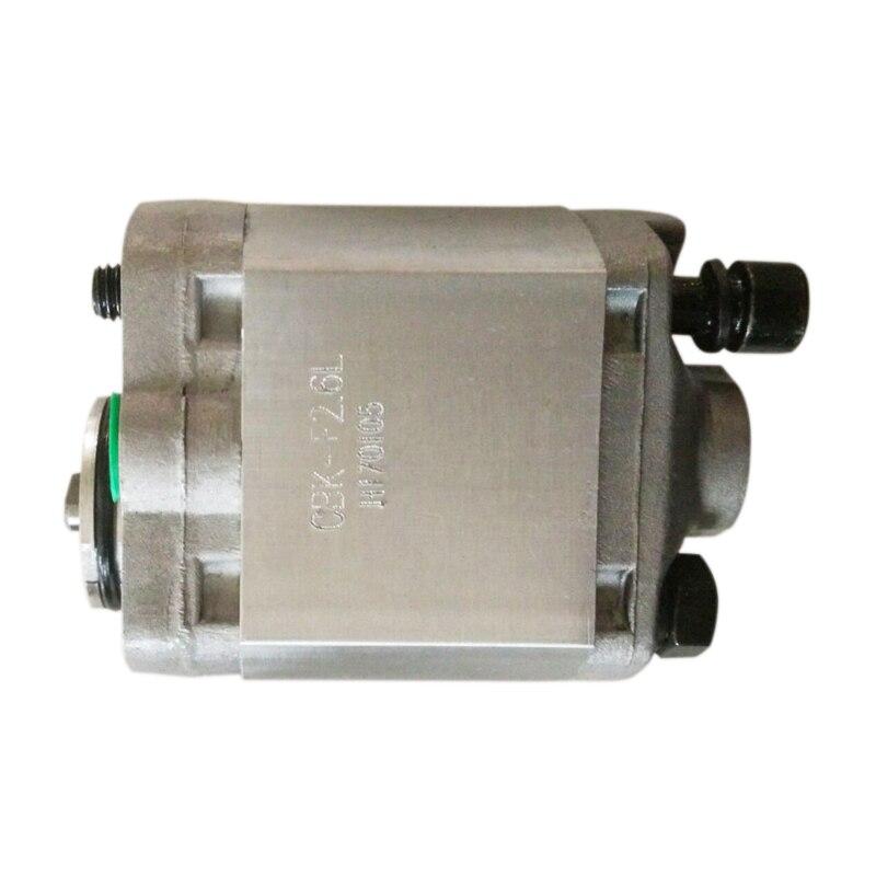CBK гидравлические насосы CBK F2.5F CBK F2.6F/F2.7F/F3.0F/F3.2F мини зубчатый насос высокое давление: 20 МПа вращение: CCW