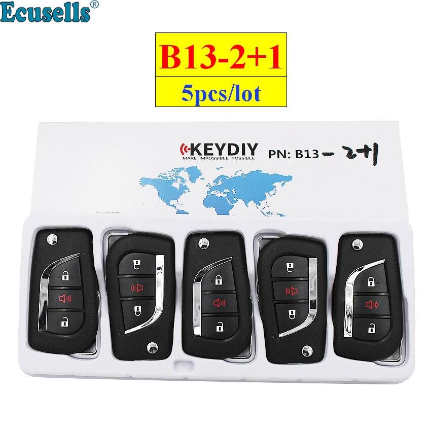 5pcs lot KEYDIY B series B13 2 1 2 1 button universal KD remote control for
