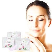 LENI Dark circles Whitening Eye Mask Anti wrinkle Collagen gel whey protein face care sleep patches Eye Skin Care Maski 4Packs Creams
