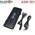 ELEGEEK 4.5 W 12 V Painel Solar Carregador de Carro Portátil com Dupla Clipes e Ventosas para Bateria de Carro Ao Ar Livre emergência