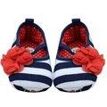 Прекрасный Малышей Девочка Мягкой Подошвой Цветок Prewalker Детская Кровать В Обуви Новорожденных Удобные Открытый Детская Обувь 0-2 Лет