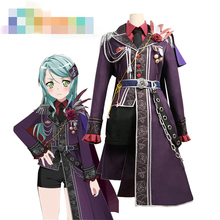 Anime Cosplay Costume BanG Dream Roselia 3th live Hikawa Sayo Dress