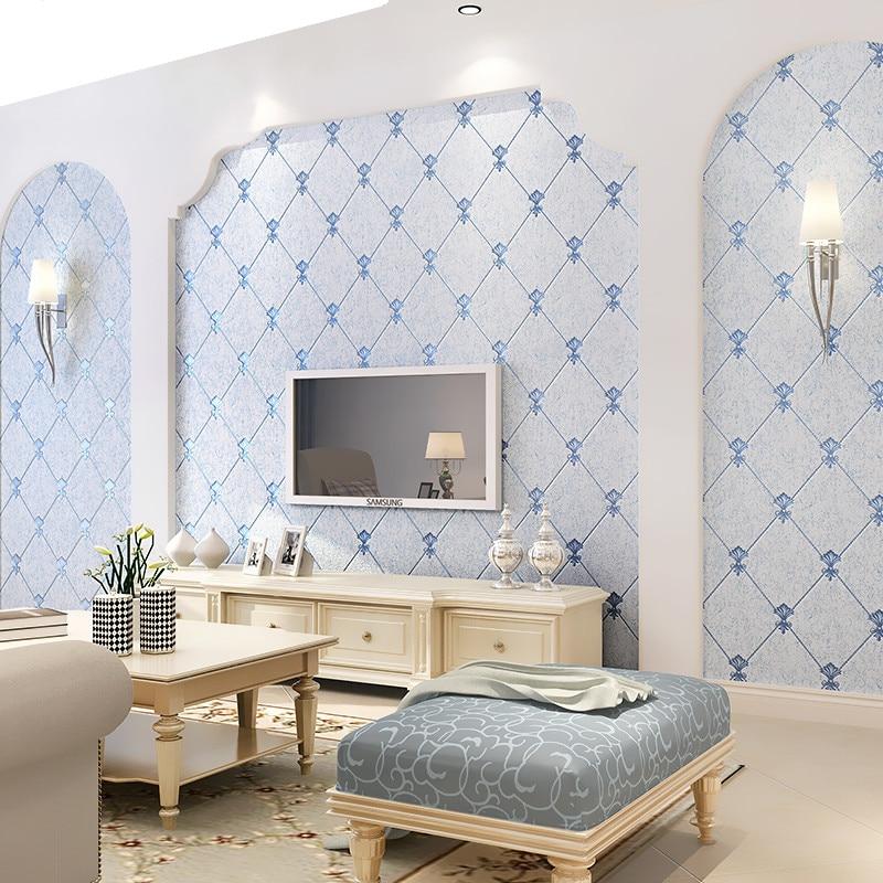 Moderne européen plus épais non-tissé 3D papier peint pour salon TV fond moderne luxe papier peint rouleau décor à la maison