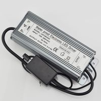 150W Dimmable Constant Current LED Driver IP67 Waterproof AC to DC25 36V 0 4500mA for 150W High Power LED Light