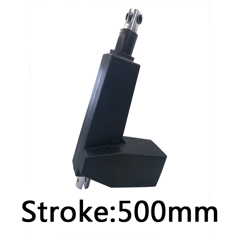 Stroke 500mm Electric linear actuator 12V 24V DC motor 2000N 4000N 6000N 8000N push pull force hospital ICU electric chair bed lx758 dc12v 24v 100mm stroke windows electric linear actuator dc motor care bed motor