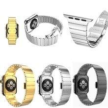 Оригинал НОСО Звеном Из Нержавеющей Стали Браслет с Бабочкой Блокировки для Apple Watch 42 мм, для Apple Watch 42 мм