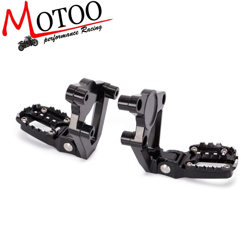 Motorcycle CNC Aluminum Rear Foot Rear Set Footrest Foot Pegs Pedal Passenger Rearsets FOR HONDA X ADV X-ADV 300 750 1000  17-19