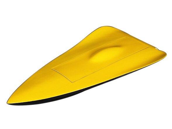 Coque de bateau en fibre de verre éco RC 530mm Kit d'assemblage de passe-temps RC