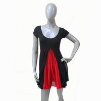 Retail Ready To Ship Cotton Lycra Leotard Mesh Skirts For Ladies And Girls