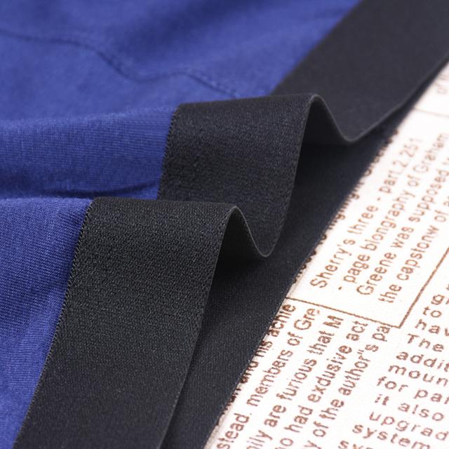 4pcs/lot Men's Underwear Cotton Boxers Man Breathable Panties Solid Shorts Brand Underpants