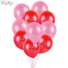 FENGRISE Home Decor Balloons Číslo Latexový balón pro svatební potřeby 2 roky narozeniny Party Helium Star Decor