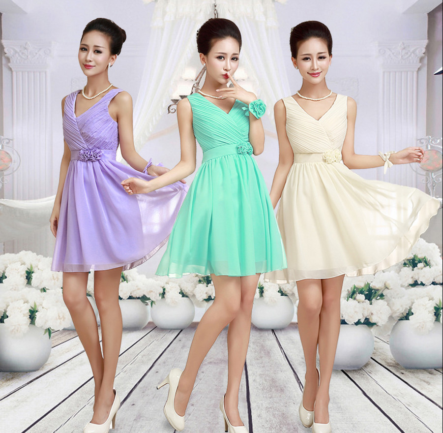 LC072M Cheap Bridesmaid Dress Under 30 Lavender Bridesmaid