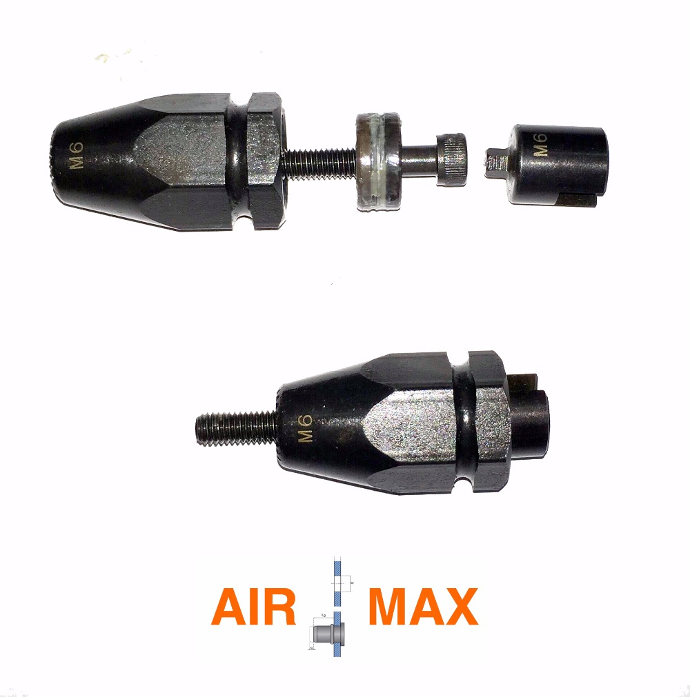 M4-M12 Nosepiece Part Set For Air Pull-setter, Nose Assembly (not Include The Customs Tax)