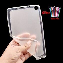 Экологически чистый мягкий силиконовый чехол для планшета Huawei MediaPad M5 Lite 8 8,0 дюйма