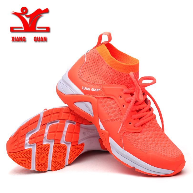 XIANGGUAN 2017 Women Running Shoes Mesh Breathable Outdoor Sport Shoes Female Walking shoes free shopping 96990 kelme 2016 new children sport running shoes football boots synthetic leather broken nail kids skid wearable shoes breathable 49