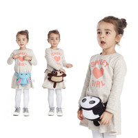 2018 Child Kid Girls Boys Cartoon Waist Bags Handbag Belt Bag Dib Candy Handbags Panda Dog Cat Lion Rabbit Submersible Material