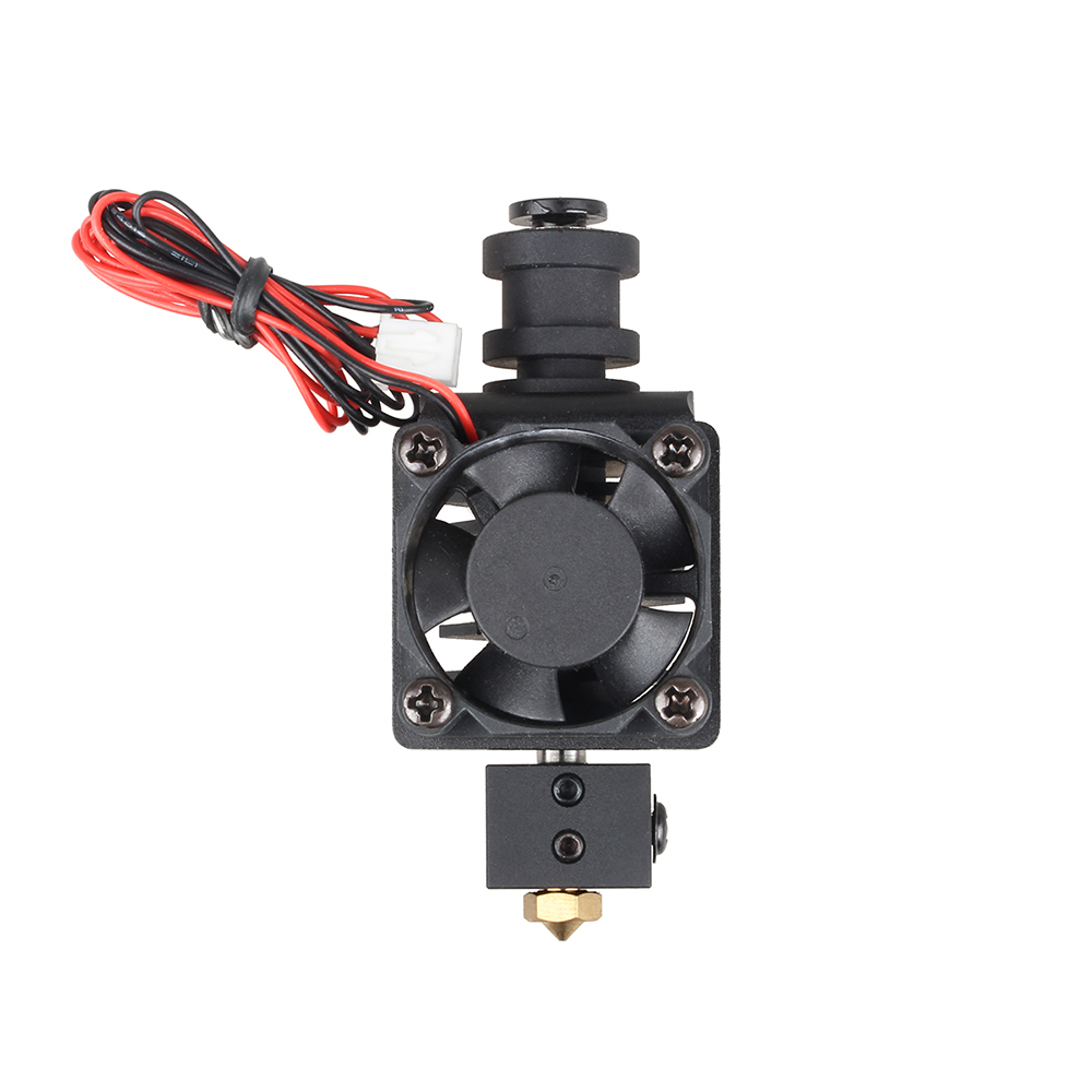 lowest price double in 1 out 2 in 1 out extruder head J-head dual drive extruder multi extruder 3d printer parts M6 thread nozzle
