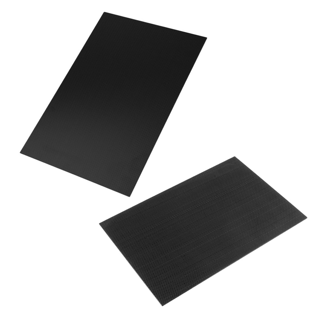 1pc 200*300*1.0mm 100% Real Carbon Fiber Plate/Panel/Sheet 3K Plain Weave Glossy Matte Carbon Fiber Plate 1pc full carbon fiber board high strength rc carbon fiber plate panel sheet 3k plain weave 7 87x7 87x0 06 balck glossy matte