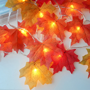LED String Maple Leaves Fairy