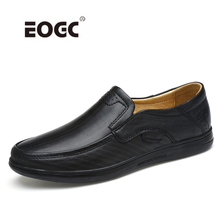 Genuine Leather Shoes Men Handmade Men Flats Shoes Slip On Soft Breathable Loafers Moccasins Comfy Driving Shoes цена