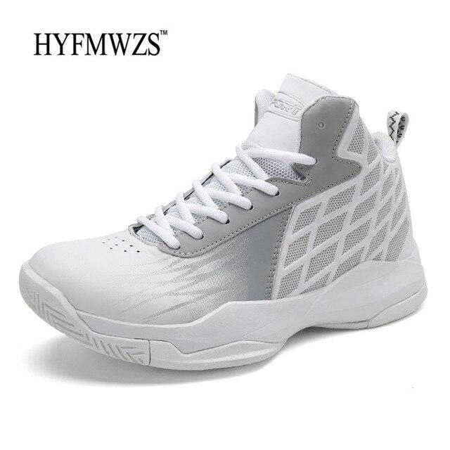Sapatos Tênis De Basquete Homens Superfly HYFMWZS Respirável Tênis de Basquete Não-deslizamento Sapatos de Desporto Homens Cesta Homme Krasovki