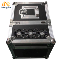 MENGBA 600W Haze Machine High quality Dual Hazer DMX512 Machine Fog Smoke Machine With Flight Case Stage Machine Effect